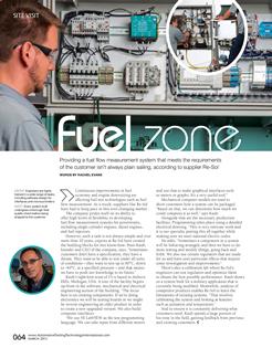 Fuel Zone - by Rachel Evans